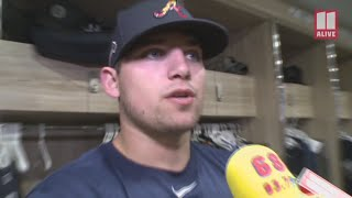 Braves infielder Austin Riley says he is confident going into the new season