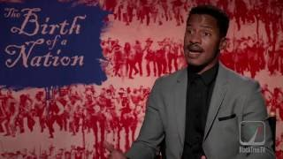 Nate Parker Interview for The Birth of a Nation