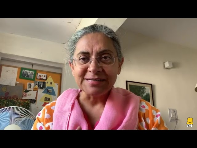 A message from Dr. Rukmini
