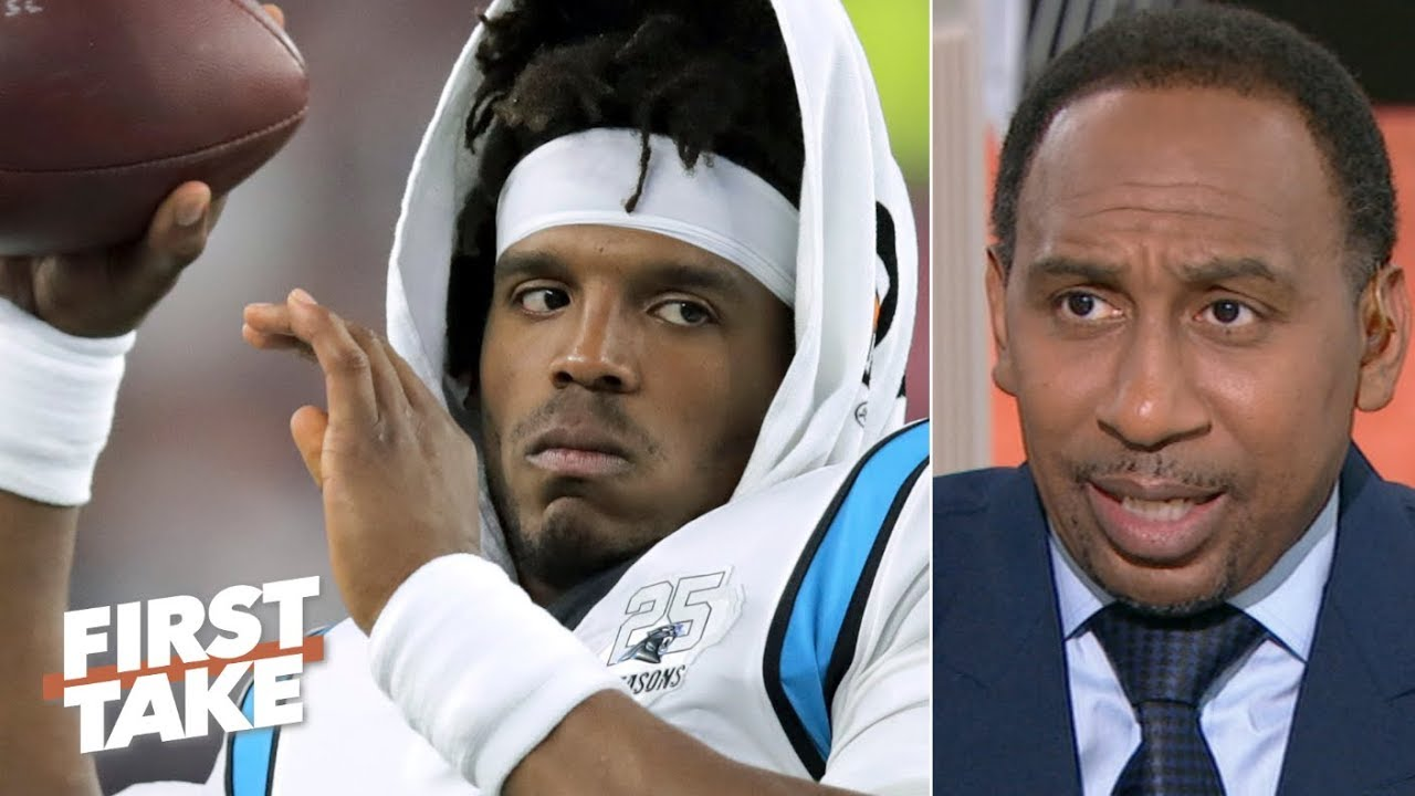 Cam Newton's inconsistent passing concerns Stephen A. | First Take