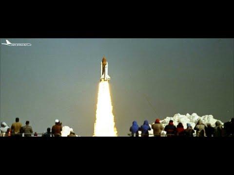 FS2004/FSX - Breaking Apart (Space Shuttle Challenger disaster)