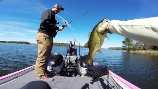 clear lake bass fishing in texas