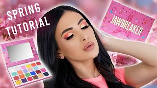Jeffree Star Jawbreaker Palette Spring Eyeshadow Tutorial