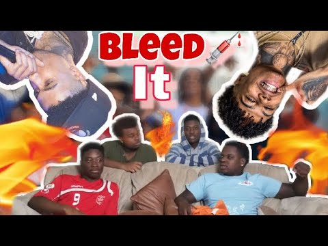 Blueface - Bleed It REACTION