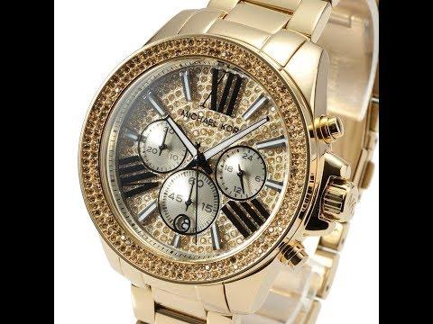 d91af5f7b3a MICHAEL KORS WATCH MK6095 WREN GOLD REVIEW WOMENS MK6095 マイケル・コース 腕時計 ゴールド  レビュー レディース