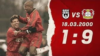 NEUN Tore in einem Spiel 😍 |Höchster Bundesliga-Sieg von Bayer 04 Leverkusen | 18. März 2000