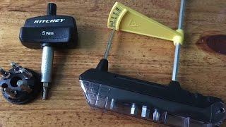 Динамометрический ключ Topeak, Ritchey - нужно или нет?(Микрофон конечно подвёл, нужно очень быстро к айфону находится, чтобы что-нибудь было слышно)) Инстаграм:..., 2016-11-05T12:21:18.000Z)