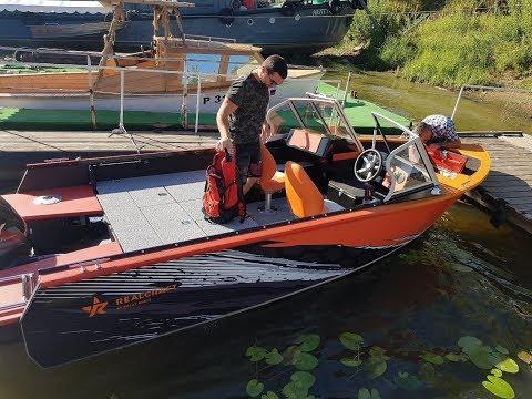 Обзор катера Realcraft 510 Fish PRO для профессиональной рыбалки