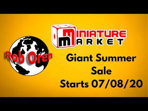 Miniature Market Sale Starts Tomorrow, 7/8/20! Once it's Gone It's Gone!  