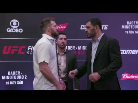 Fight Night Sao Paulo: Media Day Face-offs
