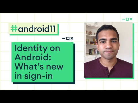 Identity on Android: What's new in sign-in
