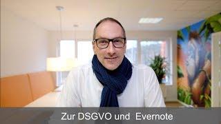 Frag Lars - Zur DSGVO und  Evernote