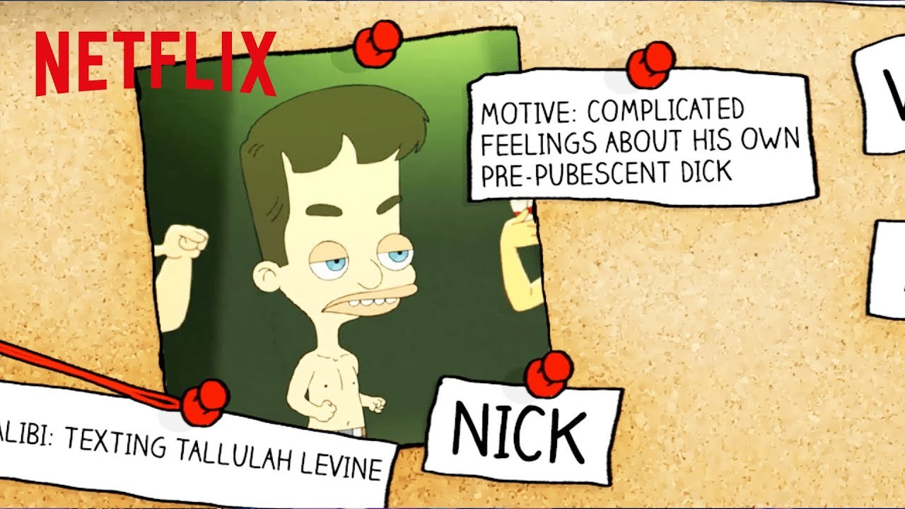 Big Mouth and American Vandal | Who Drew The Dicks? | Netflix