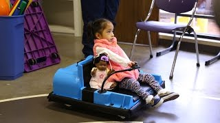 Texas Tech Students Build Toddler Mobility Device