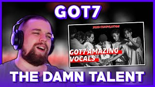 REACTION to GOT7 (갓세븐) 'GOT7 Amazing Vocals Compilation' | I…