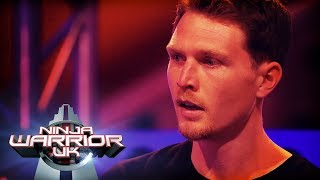Tim Shieff's unbelievable 55 seconds run    Ninja Warrior UK