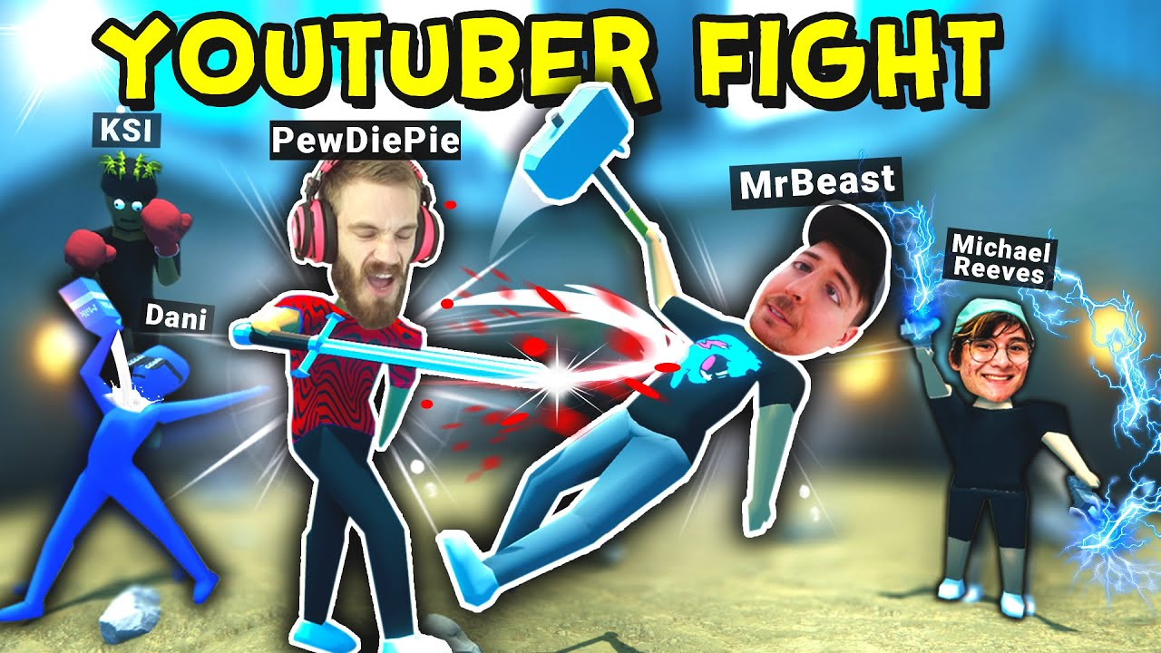 I Put the Biggest Youtubers in a Fight Arena!