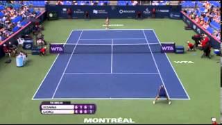 Camila Giorgi vs Elena Vesnina - 1° round WTA Montreal Rogers Cup 2014