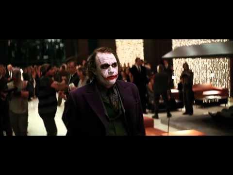 The Dark Knight - Joker Crashes The Wayne Party (HD)