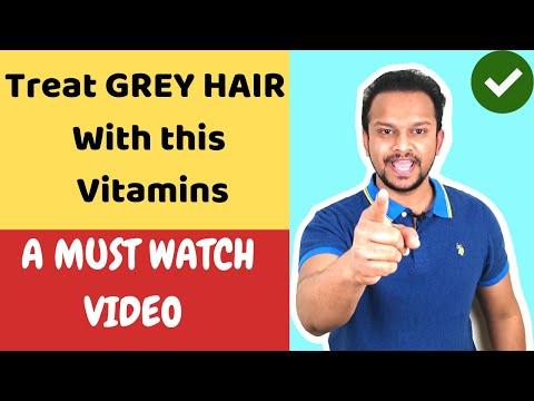 ⭐ TOP 4 GREY HAIR VITAMINS   BEST WHITE HAIR VITAMINS   GRAY HAIR SUPPLEMENTS   GREY HAIR FOODS