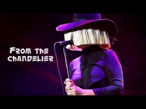 Sia - Chandelier. Acoustic Guitar Karaoke.