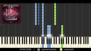 Hardwell & w&w - don't stop the madness [piano tutorial]
