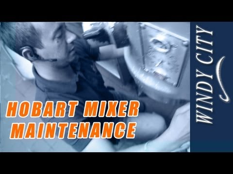 Hobart Mixer Maintenance How To Tutorial DIY Windy City Restaurant Equipment Parts