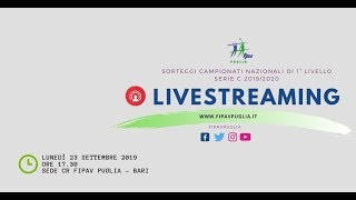 23-09-2019: Sorteggi gironi Serie C 2019-2020