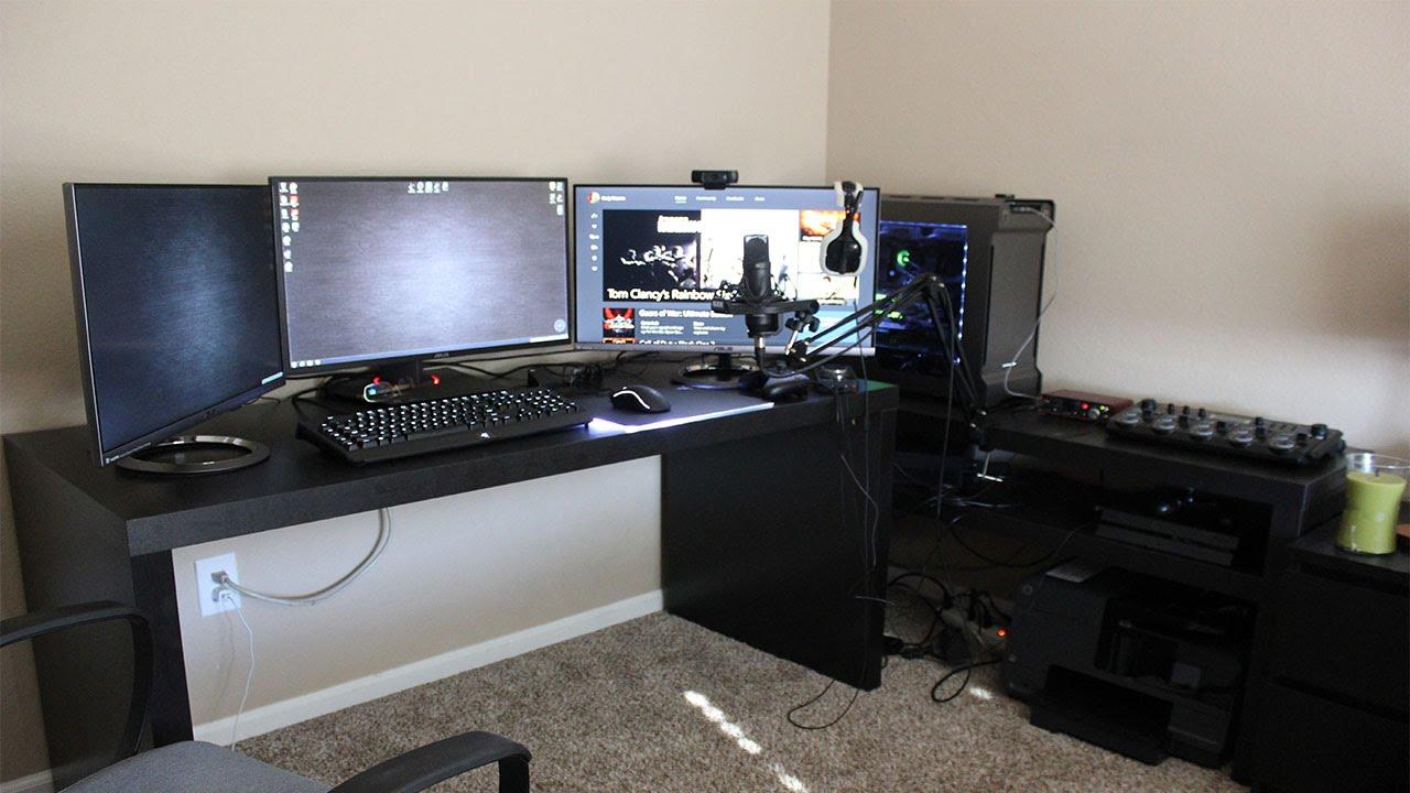 my 2016 setup youtube. Black Bedroom Furniture Sets. Home Design Ideas