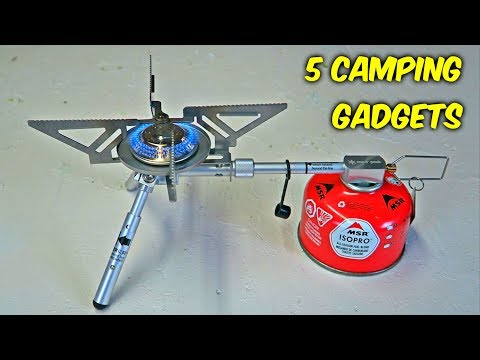 Thumbnail: 5 Camping Gadgets put to the Test