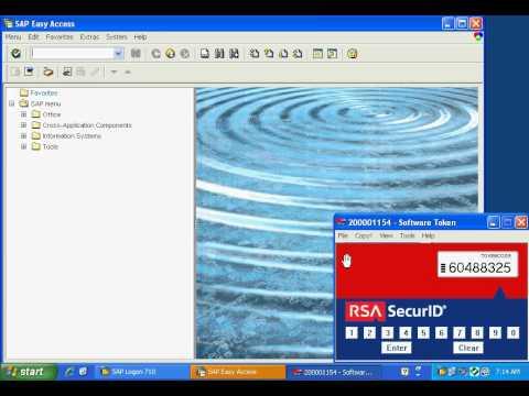 Secude Secure Login With Rsa Securid Demo