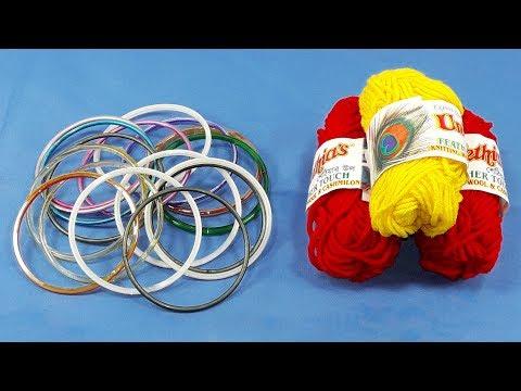 Diy old bangles reuse idea | DIY arts and crafts | Amazing craft idea | Best craft idea