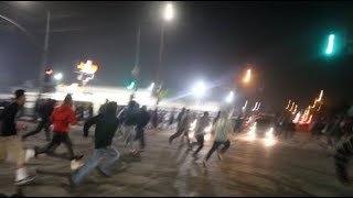 HUGE Fight Breaks Out At The Car Meet!