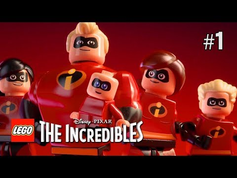 Twitch Livestream | Lego Incredibles Part 1 [Xbox One]