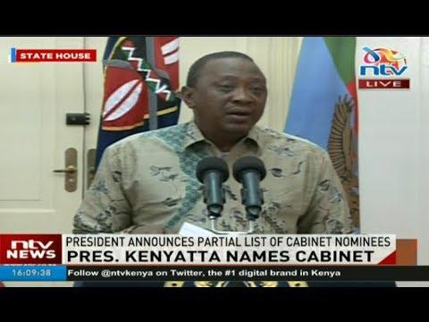 LIVE: President Kenyatta holds press conference