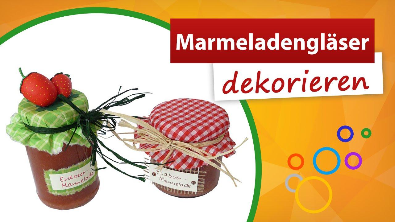 marmeladenglas dekorieren wir zeigen wie s geht trendmarkt24 bastelideen youtube. Black Bedroom Furniture Sets. Home Design Ideas