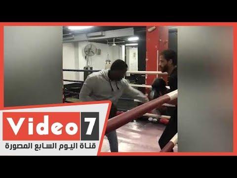 بعد تعليق نشاط الكرة.. أحمد رفعت يظهر فى حلبة المصارعة  - 13:00-2020 / 3 / 22
