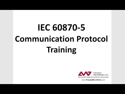 IEC 60870-5 Training #1 - Introduction