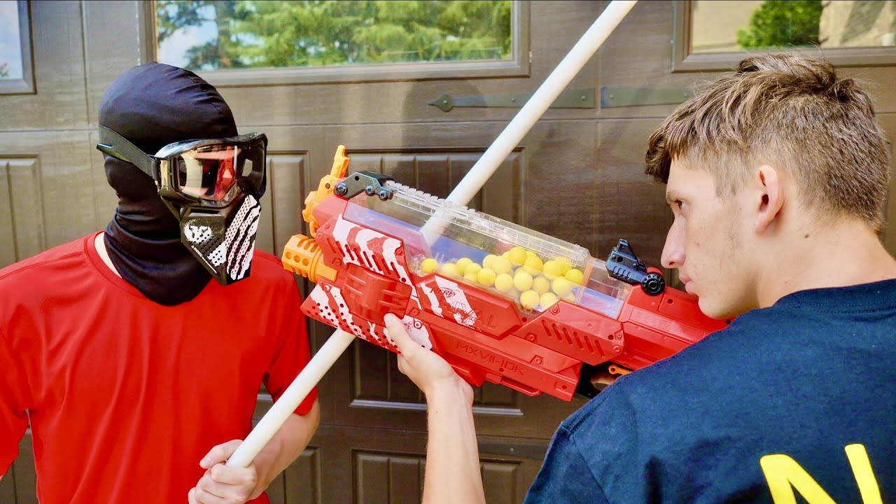 Nerf War: The Surprise Attack