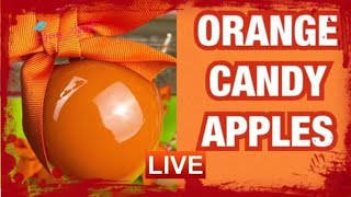 HOW TO ACHIEVE ORANGE CANDY APPLES