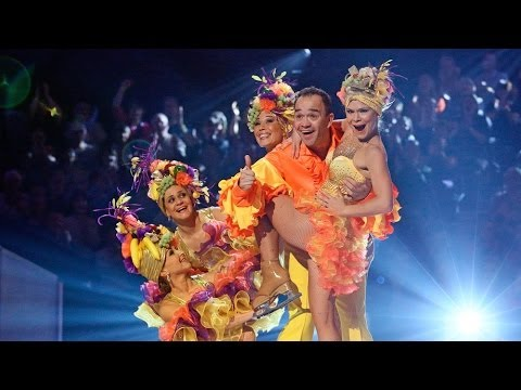 Dancing on Ice 2014 Todd Carty  Week 2  ITV