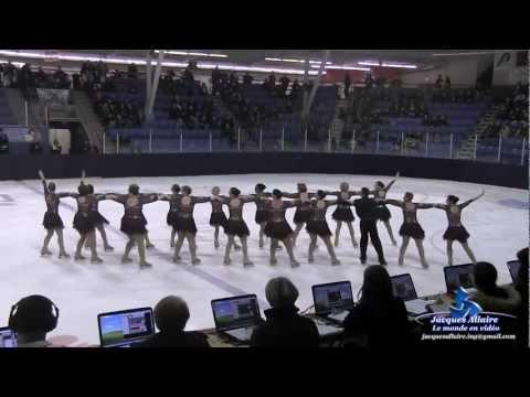 Cassiopée adulte 3 -Compétition de Trois Rivières 9 mars 2013