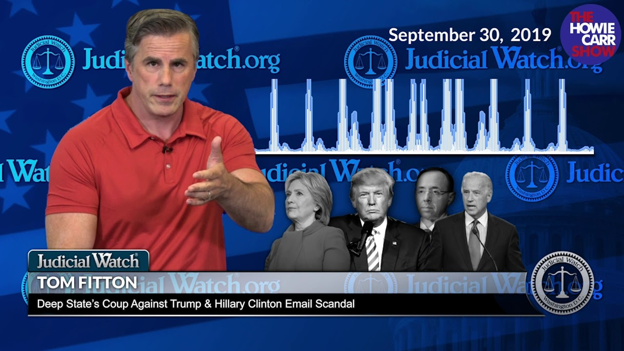 Judicial Watch Why DOJ REFUSES to Answer Anymore Benghazi or Hillary Clinton Emails
