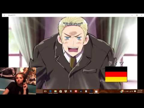 Hetalia: Axis Powers Reaction