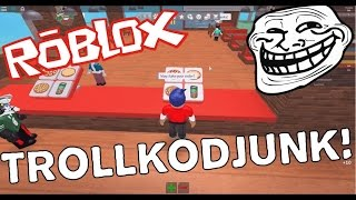 TROLLKODJUNK!! Roblox Magyarul! [Work At The Pizza Place]