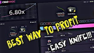 How To Profit!! - Easy Knife!! - CSGOMagic.com