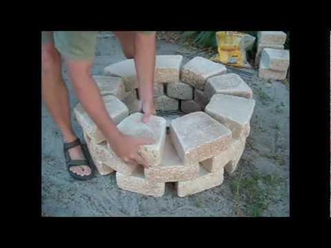 видео: Мангал из камня за 15 минут