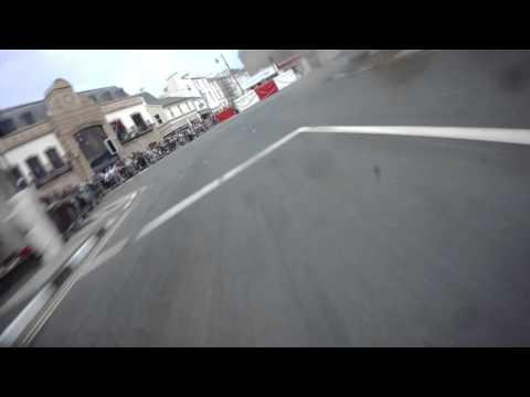 THE MORECAMBE MISSILE!! John McGuinness - TT 2015 - On Bike  Lap - Senior Race - Lap 1