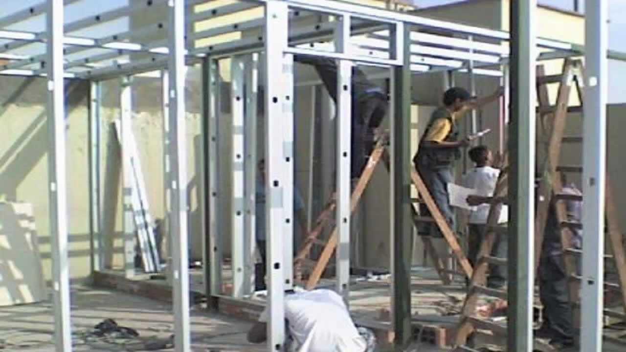 Drywall lima construcci n como aprender a instalar drywall for Techos en drywall para casas