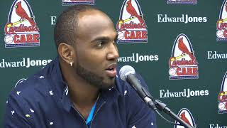 Marcell Ozuna Excited To 'Play For A Reason' With St  Louis Cardinals